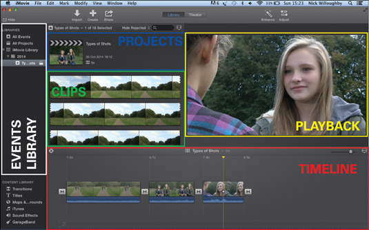 iMovie is a good choice for editing digital films.
