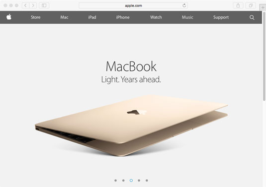 [Credit: Image courtesy of Apple Inc.'s website.]