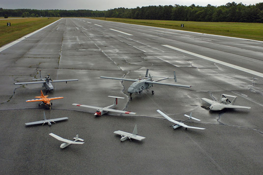 High-tech drones. [Credit: Source: U.S. Navy photo by Photographer's Mate 2nd Class Daniel J.
