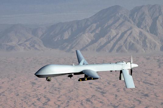 The USAF's Predator drone. [Credit: Source: U.S. Air Force photo/Lt Col Leslie Pratt]