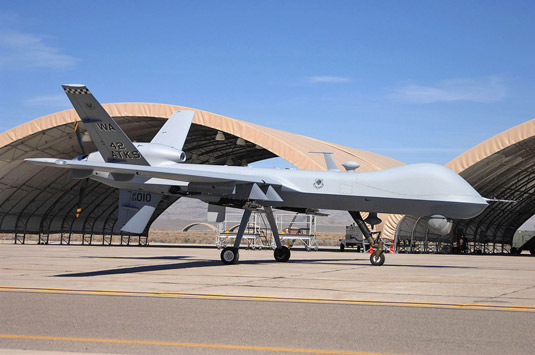 The USAF's Reaper drone. [Credit: Source: United States Air Force photo by Senior Airman Larr
