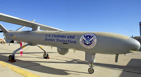 Department of Homeland Security's Hermes 450. [Credit: Source: Gerald L. Nino.]