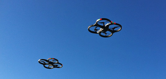 Multi-copter drone. [Credit: Source: Nicolas Halftemeyer/Creative Commons]