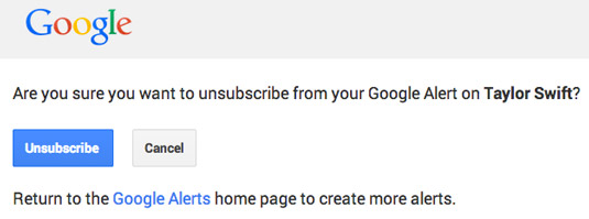 Are you sure you want to unsubscribe? [Credit: Courtesy of Tucker Krajewski]