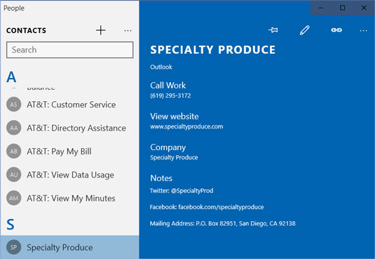 How to Edit or Delete Contacts in the Windows 10 People App