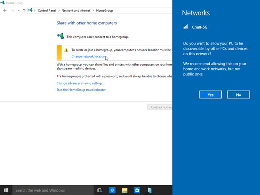 How to Set Up a Homegroup Network in Windows 10 - dummies