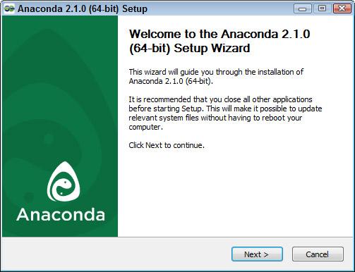 install anaconda windows 7 64 bit