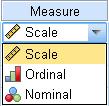The type of measurement being made by the values in this variable.