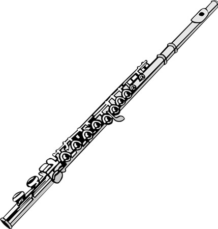 "The flute. [Credit: <i/></noscript>Source: Creative Commons]"" width=""429″/> <div class="