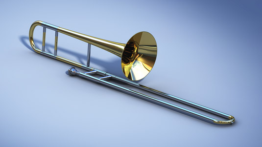 The trombone. [Credit: <i></noscript>Source: Creative Commons</i>]&#8221; width=&#8221;535&#8243;/></p> <div class=
