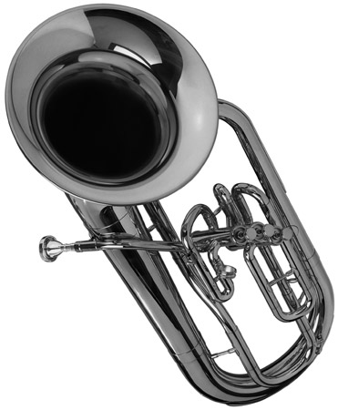 The tuba. [Credit: <i/></noscript>Source: Creative Commons]&#8221; width=&#8221;371&#8243;/> <div class=