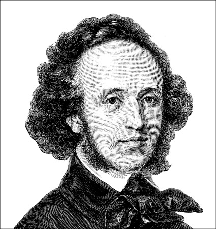 Felix Mendelssohn, the man who rediscovered Bach. [Credit: <i></noscript>Source: Creative Commons</i>]&#8221; width=&#8221;425&#8243;/></p> <div class=
