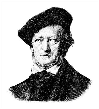 "Richard Wagner, the height of German Romantic music. [Credit: <i/></noscript>Source: Creative Commons]"" width=""410″/> <div class="