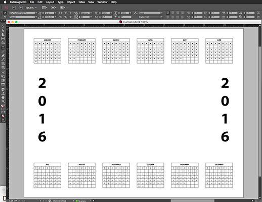 Create A Custom Photo Calendar In Photoshop Elements
