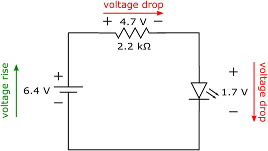 How do you hook up a voltmeter to measure the voltage across a resistor