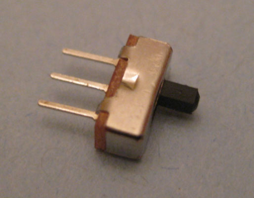 An SPDT switch can be used as an on/off switch by connecting just two of its three terminals in you