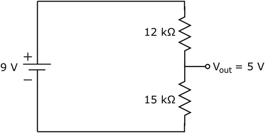 how to calculate voltage across a component