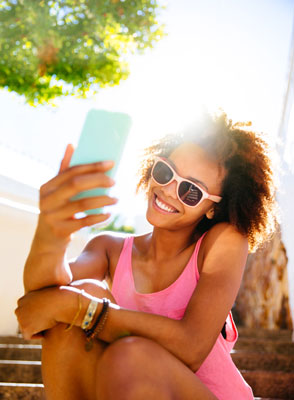 Taking the perfect selfie is trickier than you might think. [Credit: ©iStockphoto.com/Photolyr