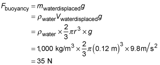 Water Displacement and Archimedes' Principle in Physics