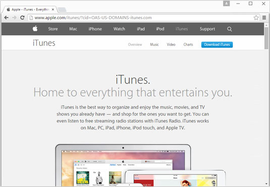 apple itunes download for windows 10
