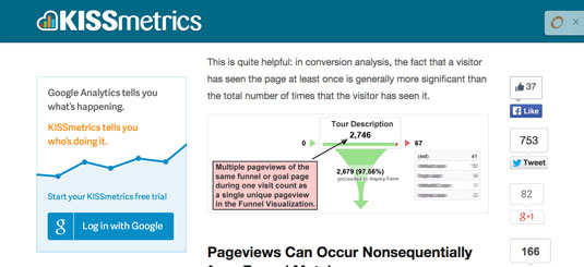 Multiple page views treated as one unique view.