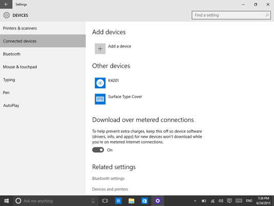 How to View and Remove Devices in Windows 10 - dummies