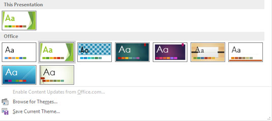microsoft powerpoint facet theme download