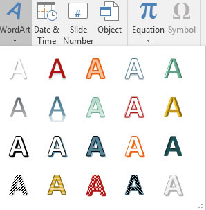 How to Insert WordArt into Your PowerPoint 2016 Presentation - dummies