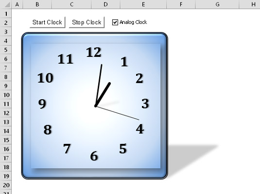 How to Use OnTime Events and Keypress Events in Excel 2016