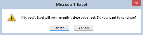 You can instruct Excel to not display these types of alerts while running a macro.