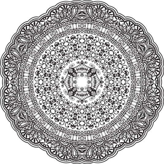 5 Mandalas To Color Dummies
