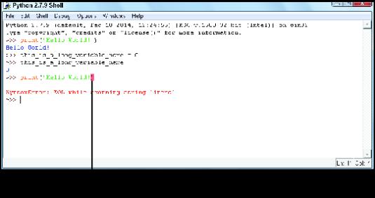 """<b/></noscript>Figure 2: Python's hissing about an error."""" width=""""535″/> <div class="""