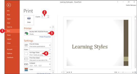 powerpoint 2016 slide orientation