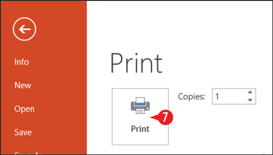 Click Print to submit the print job to your printer.