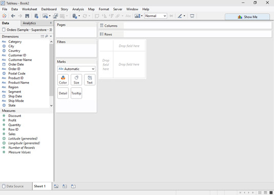 Admirable Why Its Useful To Have Multiple Tableau Worksheets Dummies Download Free Architecture Designs Scobabritishbridgeorg