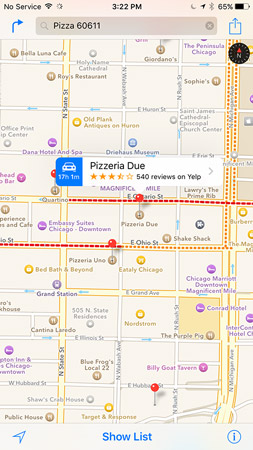 Search for <i></noscript>Pizza 60611</i> and you see pushpins for all pizza joints near 60611 (downtown Chicag&#8221; width=&#8221;253&#8243;/></p> <div class=