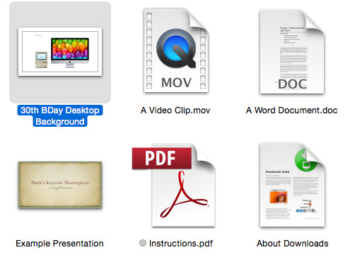 A collection of some great document icons.