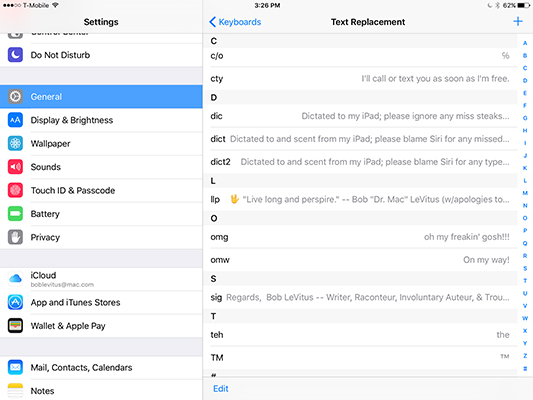 10 Hints, Tips, and Shortcuts for Your iPad - dummies