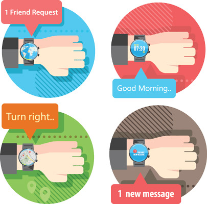 You have so many options with the Samsung Gear S2. [Credit: ©iStockphoto.com/exdez]