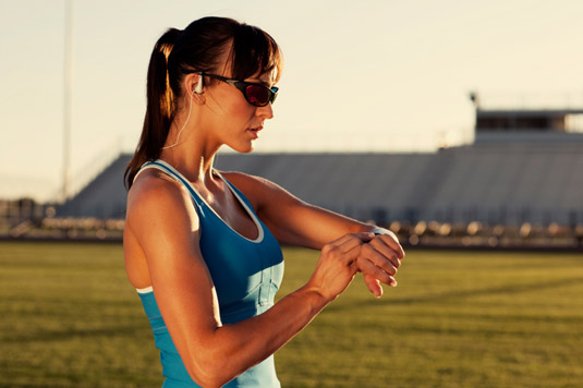Track your fitness with the new Misfit Ray. [Credit: ©iStockphoto.com/Andrew Rich]