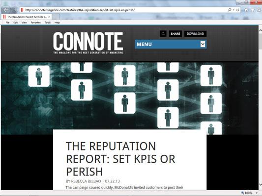 Connote Magazine.
