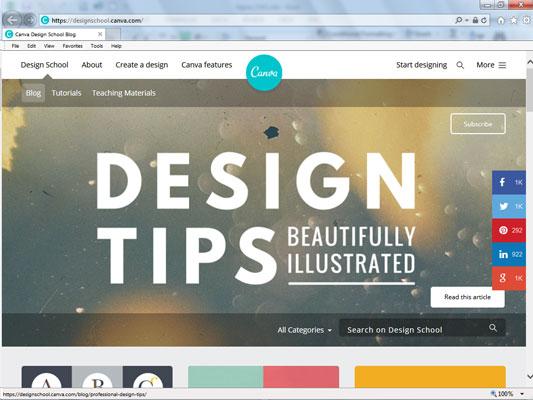 Canva Design School.