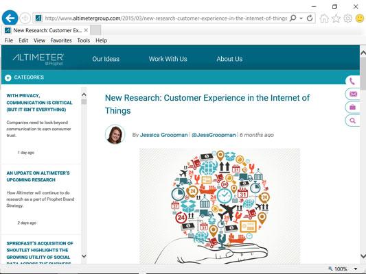 Altimeter's Customer Experience Report.