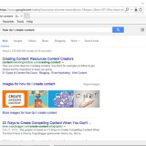 Google Search Results page.