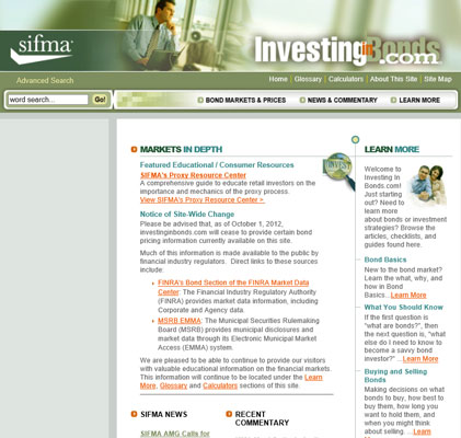 Investing in Bonds answers most questions you might have when considering investing money in bonds