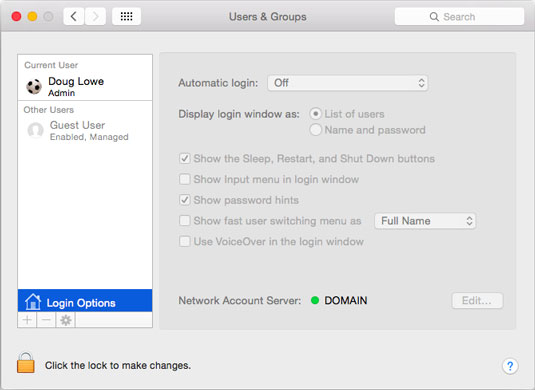 how to join a domain on a mac