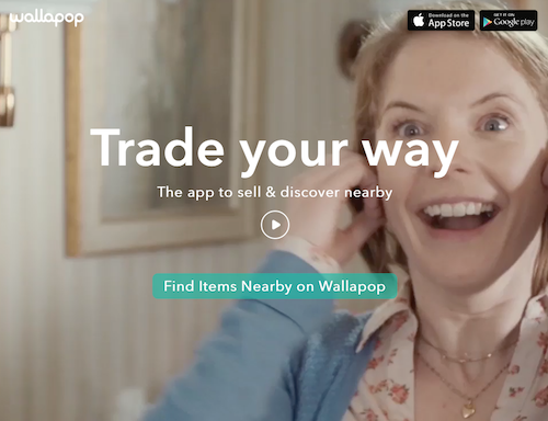"Using Wallapop.com is easy. Tap or click ""Find Items Nearby on Wallapop"" to get started."