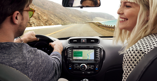 Android Auto is a safe way to use your Droid while driving. [Credit: Image courtesy of Android.com]