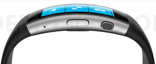 You will be a truly urbane user with the integration of the Microsoft Band 2. [Credit: Image courte