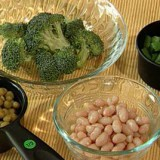 How to determine a serving size for fruits and vegetables.